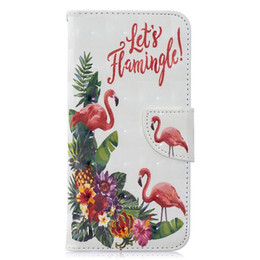 3d Cases Sony Xperia Australia - For Samsung Galaxy A10 A20 A30 A40 A50 A70 M10 M20 Sony Xperia 10 3D Butterfly Leather Case Flamingo Peacock Elephant Bird Flower Cover 1pcs