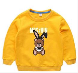 1709ef9c7 Marca de moda para niños Ropa para niña Bebé niño Camisa de manga larga  Moda Estampado de algodón Ropa para niños camiseta Camiseta tops