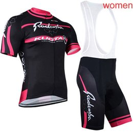 kuota cycling jersey shorts UK - HOT SALE KUOTA team Summer Lady Cycling Short Sleeves jersey bib shorts sets Breathable Comfortable MTB Sports wear A62429