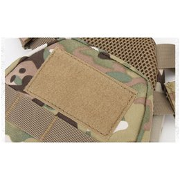 combat molle vest Australia - Outdoor Sports Airsoft Gear Molle Pouch Bag Carrier Camouflage Body Armor Combat Assault Chest Rig Tactical Molle Vest