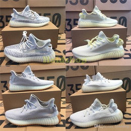 2017 golf 350 V2 Static Semi Frozen Yellow Cream White Zebra Butter Beluga 2.0 Kanye West Sports Designer Seankers Mens Running Shoes With Box