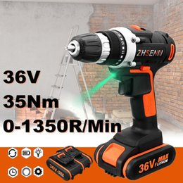 Battery power drills online shopping - Max V Electric Screwdriver Lithium Battery Rechargeable Parafusadeira Furadeira Multi function Cordless Drill Power Tools