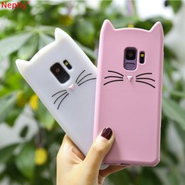 $enCountryForm.capitalKeyWord Australia - Luxury Cat Lovely Case For Iphone 6 7 8 Plus Case For Iphone X Xr Xmax Silicone Cell Phone Cover Skin Call Phone Accessories