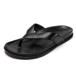 $enCountryForm.capitalKeyWord NZ - Couples Thick Sole Beach Slippers Womens Leather Flip Flops Women Platform Slippers Summer Woman Shoes Size 44 Ipanema Flip Flops