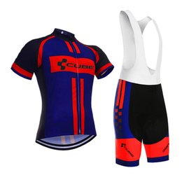 $enCountryForm.capitalKeyWord UK - CUBE team Summer Cycling Jersey short sleeve Breathable Bike Clothing Quick-Dry Bicycle Sportswear Ropa Ciclismo Bike Bib pants shorts sets