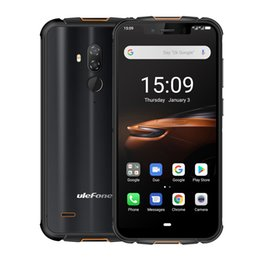 Wholesale Ulefone Armor 5S Waterproof IP68 NFC Rugged Mobile Phone 5.85'' Octa-core Android 9.0 4GB+64GB Wireless Charge 4G LTE Smartphone