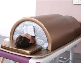 infrared beds UK - far infrared ray therapy sauna thermal jade massage bed for detox and weightloss