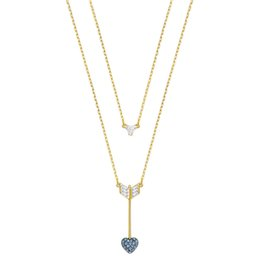 god necklaces 2019 - MINA BEAR 19 SWA New GOOD Necklace Female Love God Arrow Two In One Shining Crystal Gives Girlfriend The Best Choice Gif