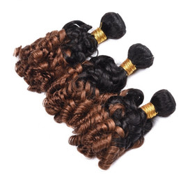 best curling hair machine NZ - Top Quality Ombre Color 1B 30 Funmi Human Hair Weave Best Selling Products bouncy curl Funmi Hair