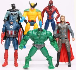 $enCountryForm.capitalKeyWord Canada - 18 Groups Anime action figure The Avengers figures super hero toy doll baby hulk Captain America thor Iron man Kid boy birthday gift