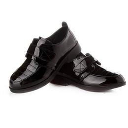 $enCountryForm.capitalKeyWord NZ - 2018 Spring Autumn Boys Flat Shoes Leather Shoes Children Single Black Child Patent Leather Sale Student Shoe