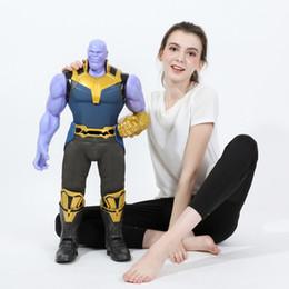 Free Marvel Toys Australia - Thanos Doll Toy Huge Thanos PVC Doll 77CM High Quality Model Toys Marvel Super Hero Free shipping DHL