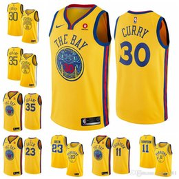 eded7e09621 Cheap Stephen Curry Jerseys Australia - 2019 cheap men Golden Jersey steph  Durant Stephen State Kevin