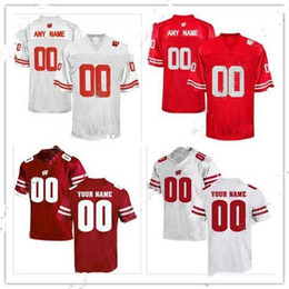 badgers jersey 2019 - Cheap custom Wisconsin Badgers Men's College football jersey Customized College Jersey Any name number Stitched Jer