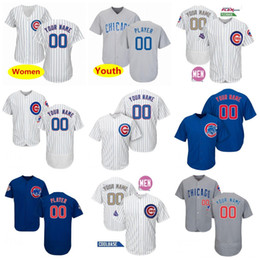 5c531016a ... 50% off custom chicago cubs jersey bryant javier baez david ross kyle  david bote schwarber