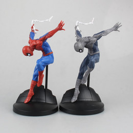 $enCountryForm.capitalKeyWord Australia - Spiderman Figure Series Spider-Man Creator X Creator Doll Spider Man 2 Styles PVC Action Figures Collectible Toys 15cm KT4017