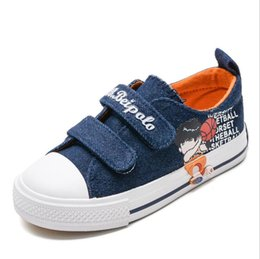 eed99e1e0e28 Spring and autumn 2019 boys girls cartoon casual shoes little boy student  school sneakers children Fashion style canvas shoes