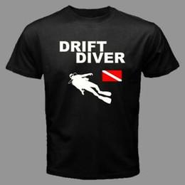 $enCountryForm.capitalKeyWord UK - DRIFT DIVER Scuba Diving gear diver down Flag deep water BlaNew Tees T DD3