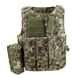 Chinese  Tactical Vest Special Forces Combat Paintball Camo Equipment Vest CS Waistcoat Camouflage 600D Oxford Tactical manufacturers