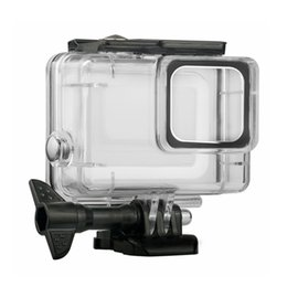 Hero Diving Housing Australia - Diving Waterproof Case Housing For Gopro Hero 7 Silver & Hero 7 White Underwater Protection Shell Box Go pro Accessories