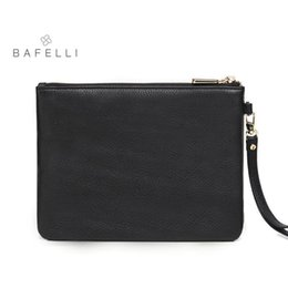 Ostrich Leather Clutch Bag Australia - BAFELLI Bags For Women Nice Genuine Leather Clutches Women Cow Leather Bolsos Mujer Famous Brands Day Cltches Bag