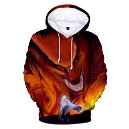 5e5cd9cb3 Naruto fashion Hoodies Men Women pullovers 3D Hoody Oversized Sweatshirts  Casual Naruto 3D Hoodies Men Tops 4XL