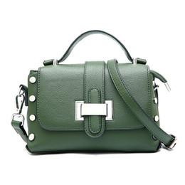 $enCountryForm.capitalKeyWord Australia - good quality Fashion Rivet Handbags Women Bags Designer Ladies Leather Zipper Shoulder Wallets Purse Tote Messenger Hand Bags