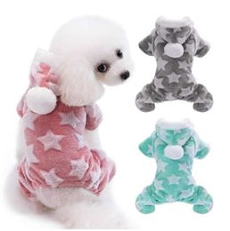Cute Outfits For Spring Australia - Cute Dog Clothes Jumpsuit Warm Winter Puppy Cat Coat Costume Pet Clothing Outfit For Small Medium Dogs Cats Chihuahua Yorkshire