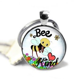 $enCountryForm.capitalKeyWord Canada - Be Kind Keychain,Bee Keychain,Save The Bees, Flowers, Hornet, Honey, Puns , Friends, Gift for Girl ,Gift for Children, Gift for Kid