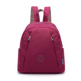 $enCountryForm.capitalKeyWord Australia - Small New Fashion Women Backpack Female Waterproof Nylon School Bag Mini Travel Shoulder Bags Leisure Knapsack For Girl College Y19061204