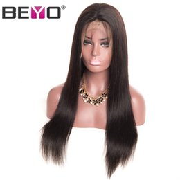 $enCountryForm.capitalKeyWord Australia - 360 Lace Frontal Wigs 150 Density Straight Lace Front Human Hair Wigs For Black Women Indian Remy Baby Hair Full End Beyo