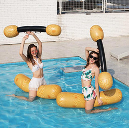 Pair Bedding Australia - inflatable water pair against a set of water entertainment toys play games equipment sports Floating Water Bed CZ307