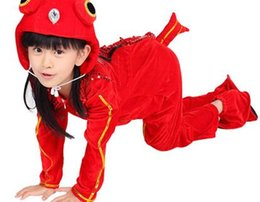 5b398151a Red animal costumes online shopping - 2019 New style children cosplay Red  Goldfish Rabbit Fox red