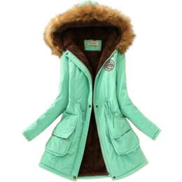 $enCountryForm.capitalKeyWord UK - Laamei Autumn Winter Women Warm Jackets Long Hoodies women's fashion Cotton Plus Size Fur Collar coats winter clothes women