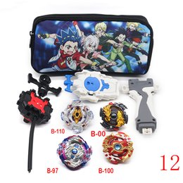 beyblades metal fusion toys NZ - Tops Beyblade Burst Set Toys Beyblades Arena Bayblade Metal Fusion Fighting Gyro Launcher Spinning Top Bey Blade Blade Toys Boy Y200428