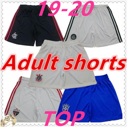 Wholesale Top thai quality brazil flamengo Sao paulo Palmeras Adult soccer shorts soccer jersey camisetas DUDU football shirt maillot de foot