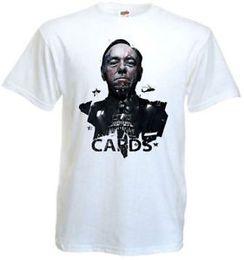 $enCountryForm.capitalKeyWord Australia - House of Cards v.5 Movie Poster T shirt white all sizes S-5XL