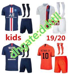 $enCountryForm.capitalKeyWord Australia - New psg kids kit set socks soccer jersey maillot psg kids 2019 2020 football kits 19 20 Maillot de foot psg kids red shirt MBAPPE jersey