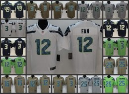 Seattle Seahawks Jersey Men  3 Russell Wilson 16 Tyler Lockett 12 12th Fan  49 Shaquem Griffin Women Youth Limited Jerseys 03d75dbdd