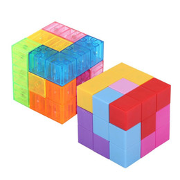 $enCountryForm.capitalKeyWord Australia - 3x3x3 Magnetic ABS Cube Puzzle Twist Building Blocks Stress Relief with 54 guide cards Kids Funny Assembled Game Toy for Child L