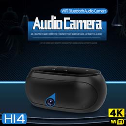 $enCountryForm.capitalKeyWord NZ - Wireless Wifi mini camera 4k Ultra-HD 1080P bluetooth speaker camera Portable music player voice video recorder home security Camera DVR H14