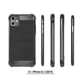 $enCountryForm.capitalKeyWord Australia - Phone case For IPhone 11 XI Xs Max cellPhone Cases drawbench Carbon Fiber Phone Cover for Iphone XI 5.8inch 6.5inch phone