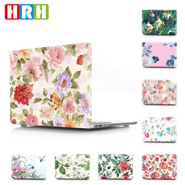 "Macbook 13 Inch Waterproof Australia - HRH Waterproof Fashion Flower PC Hard Case Cover For Macbook Air 13""Case A1369 A1466 A1932 New"