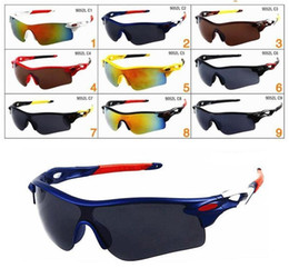 $enCountryForm.capitalKeyWord Australia - Brand Cheap Sunglasses for Men and Women Outdoor Sport Sun Glass Eyewear Designer Sunglasses driving cycling sun glass 9colors free shipping