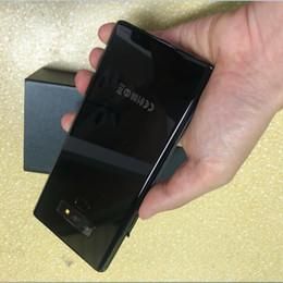 $enCountryForm.capitalKeyWord Australia - Wholesale Goophone note 9 6.4inch Real Touch ID 4g Lte Phone Quad Core 1G Ram 16G Rom Add 64G Card Unlocked Smartphone Goophone note9