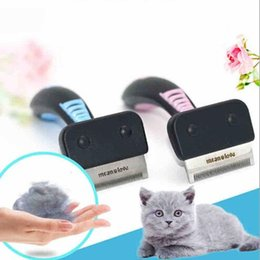 $enCountryForm.capitalKeyWord Australia - Pet Dog Cat Hair Removal Brush Comb Furmins Pet Grooming Tools Hair Shedding Trimmer Comb for Cats Dogs