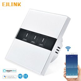 $enCountryForm.capitalKeyWord Australia - EJLINK Smart Wifi Wall Touch Switch 1 Gang 1 Way Wireless Remote Light Relay App Control Work with Alexa Google Home