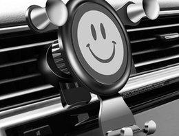 Новый автомобильный держатель телефона для телефона в автомобиле Air Vent Mount No Магнитный держатель для мобильного телефона Универсальный Gravity Smartphone Cell Поддержка