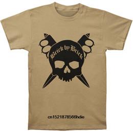 $enCountryForm.capitalKeyWord NZ - Wholesale Discount Funny T Shirt Men Novelty Tshirt Brick By Brick Trench Knife T-shirt