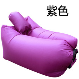$enCountryForm.capitalKeyWord Australia - Wholesale- Foldable Outdoors Indoor Inflation Chair Sleeping Pillow Office Deck Chairs Lounger Sofa Nflatable Air Sleepings Bag 65jt C